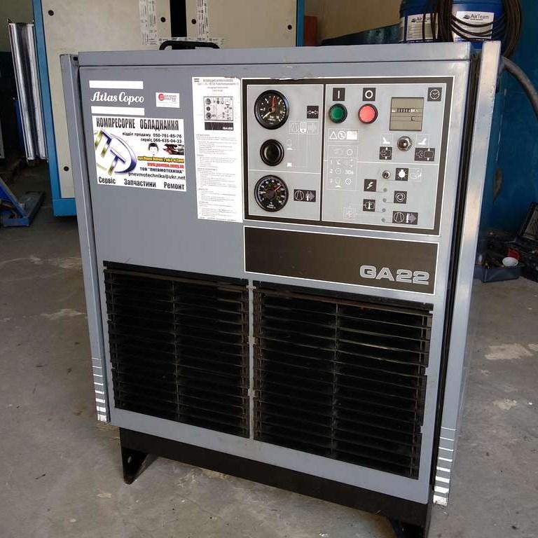 Компрессор Atlas Copco GA22 22кВт 10 бар