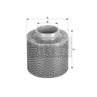 Фильтр воздушный С 1368
