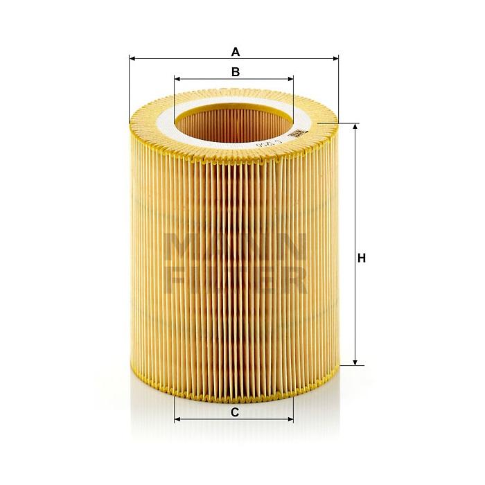 Фильтр воздушный С 1250
